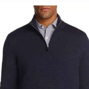 Other - Bloomingdale's Cashmere Half-Zip  Sweater